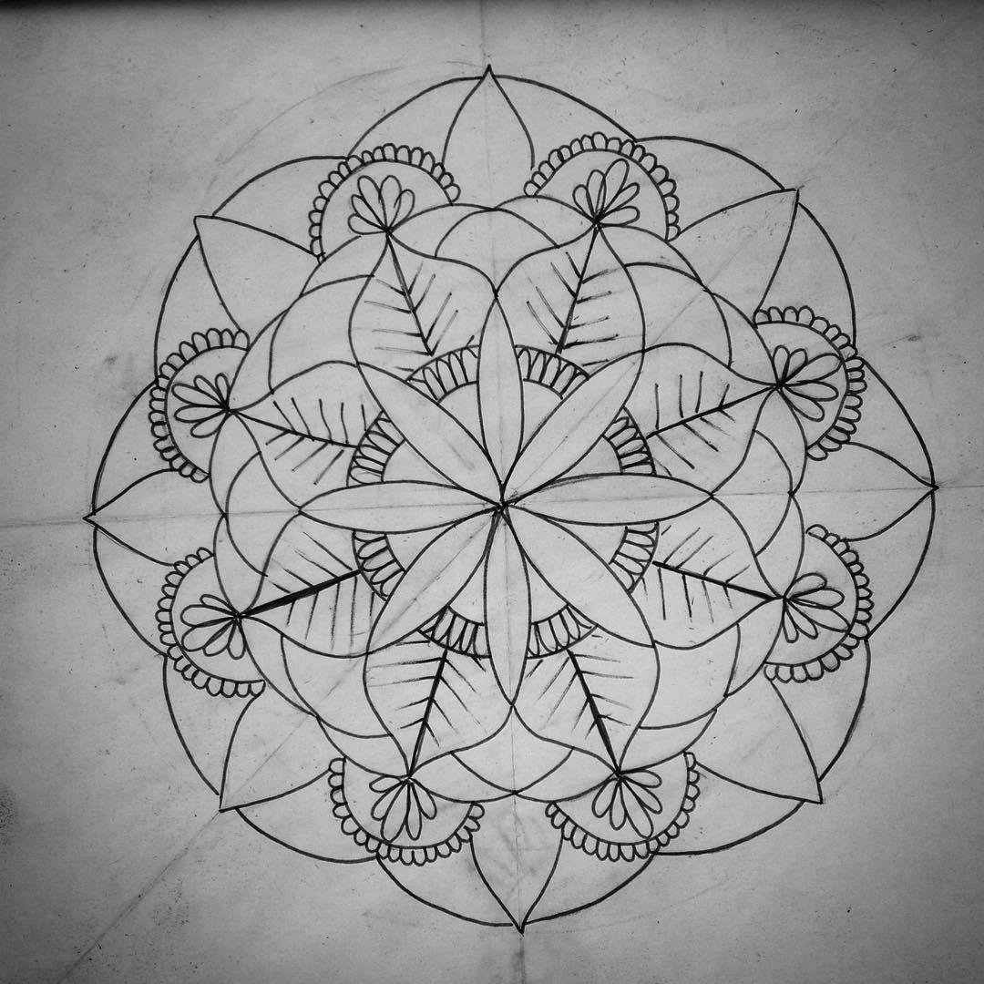 梵花纹身手稿